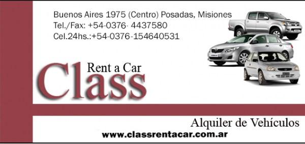 Foto de CLASS Alquiler de Vehículos Rent a Car Posadas