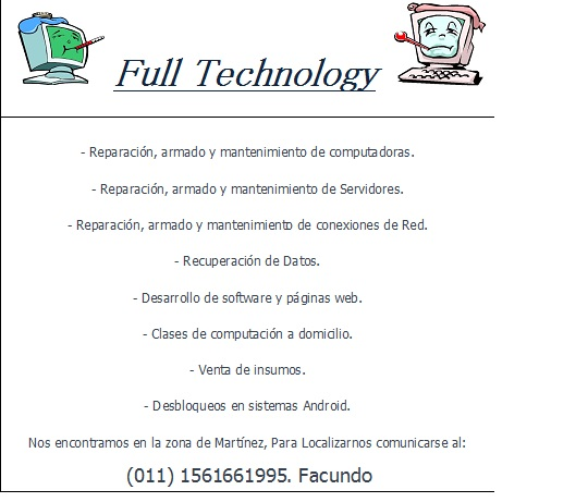 Full Technology Martínez